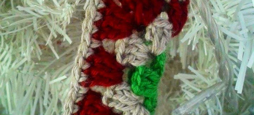 Χριστουγεννιάτικη πλεκτή κάλτσα…